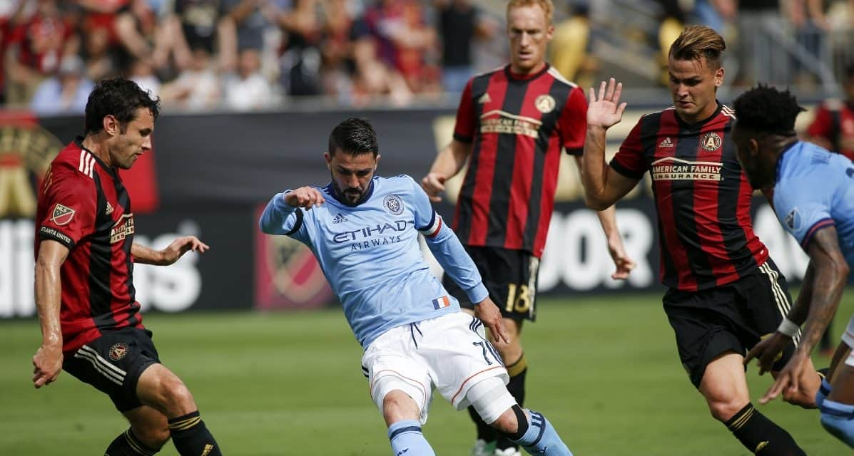 7-MINUTE NIGHTMARE: NYCFC pays for it with a 3-1 loss in Atlanta