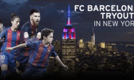 LONG ISLAND BOUND: Barcelona to establish youth soccer academy, tryouts start Monday