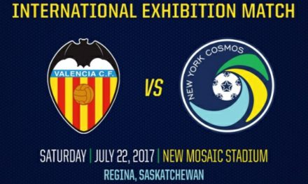 OUT-OF-TOWN FRIENDLY: Cosmos to play Valencia in Regina, Canada July 22