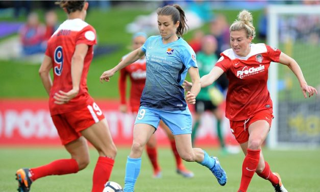 GREAT ATTACK, NOT SO GREAT DEFENSE: Sky Blue FC fall at Spirit, 4-3