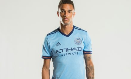 BACK IN TRAINING: Shelton practices with NYCFC for 1st time since April