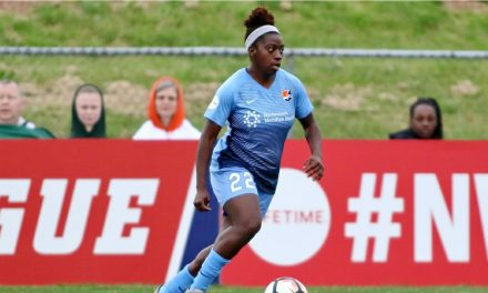 GONE FOR THE SEASON?: Sky Blue FC's Freeman suffers Achilles tendon tear