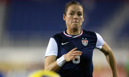 SHE'S HAMSTRUNG: Ailing O'Hara can't play vs. Mexico