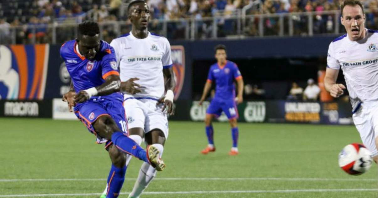LEAGUE HONORS: Ex-NYCFC player Kwadwo Poku (Miami FC) named NASL player of the week