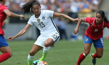 JUST ENOUGH: U.S. women downs Spain on Press' goal