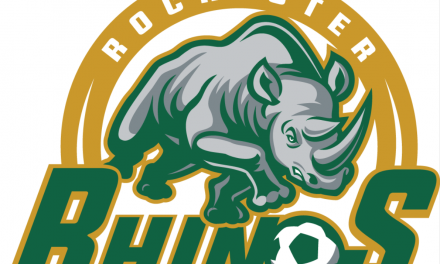 CAN'T HOLD THAT LEAD: Rhinos, Kickers in 1-1 tie