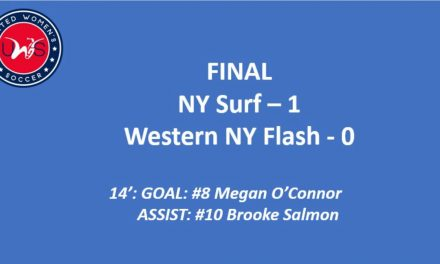 SURF'S UP, LANCERS DOWN: NY wins opener, 1-0, Rochester falls at New England