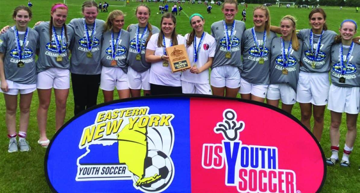 ENY GIRLS U-18 STATE CUP: Red Hook Heatwave 2, LaGrange Chargers 1