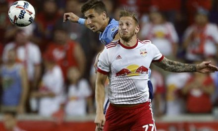 TAKING CENTER STAGE: Royer finds himself in the right spot at the right time