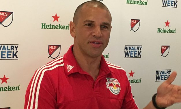 SOME LITTLE VICTORIES: Armas pleased with Red Bulls' game