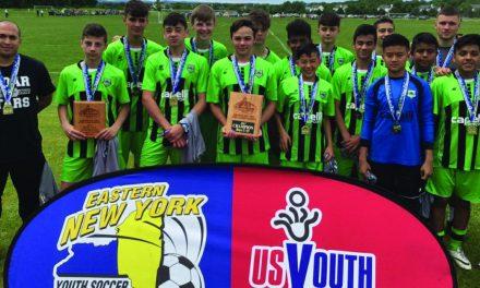 ENY BOYS U-15 STATE CUP: Cedar Stars Staten Island Green 2, Lynbrook/East Rockaway Sting 0