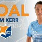 YOU'VE GOT TO SEE IT TO BELIEVE IT: Sam Kerr's 4th and equalizing goal