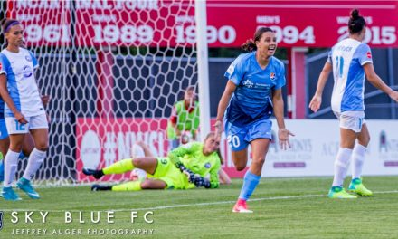 DOUBLE HONORS: Sky Blue FC's Sam Kerr named pro and soccer personality of the year