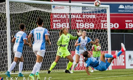 LETTING IT SLIP AWAY: Sky Blue lose lead, game to Pride
