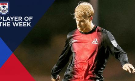 NASL PLAYER OF THE WEEK: Deltas' Kyle Bekker is rewarded with an award