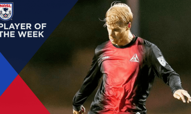 NASL PLAYER OF THE WEEK: Deltas' Kyle Bekker is rewarded with an award