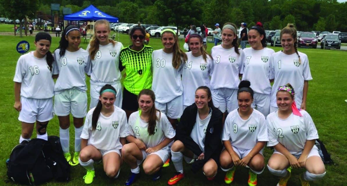 ENY GIRLS U-16 STATE CUP: Lynbrook/East Rockaway Screaming Eagles 0, Massapequa Hurricanes 0 (Lynbrook in PKs, 4-2