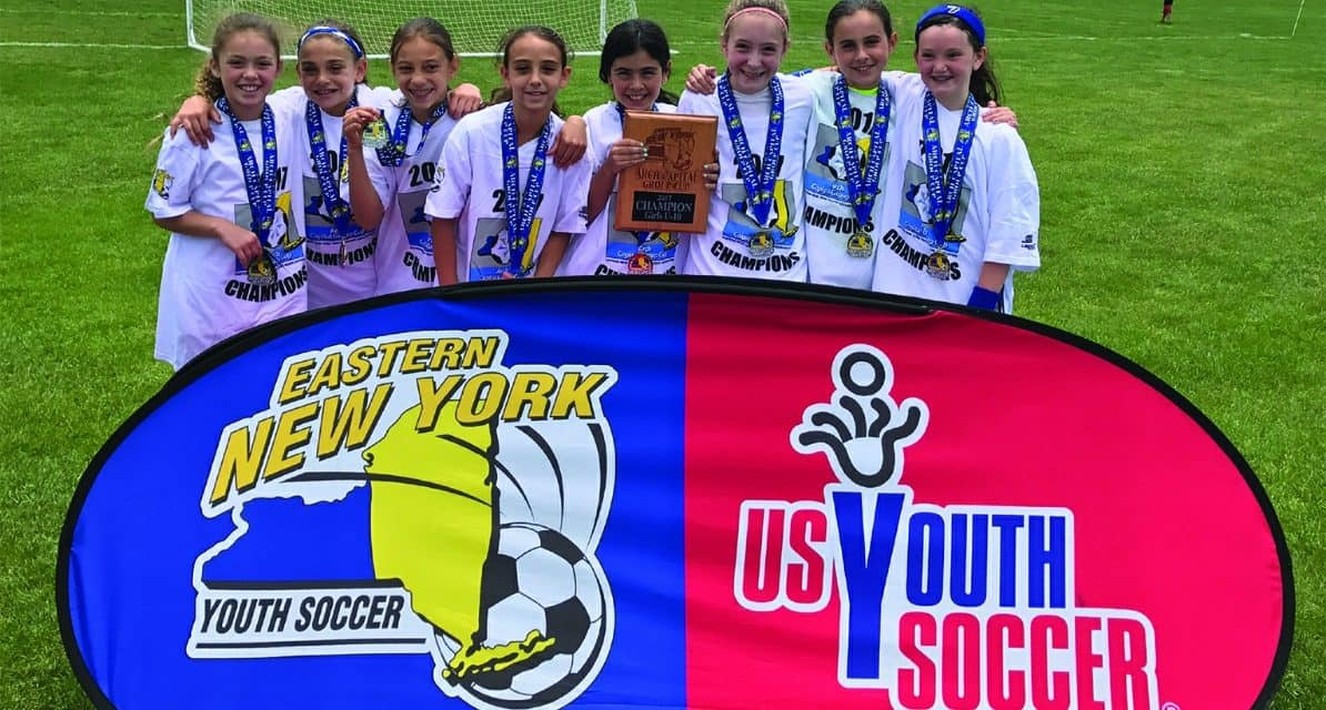 ENY GIRLS U-10 ARCH CUP GOLD: Merrick/South Merrick 3, Lake Grove/Newfield Magic 1