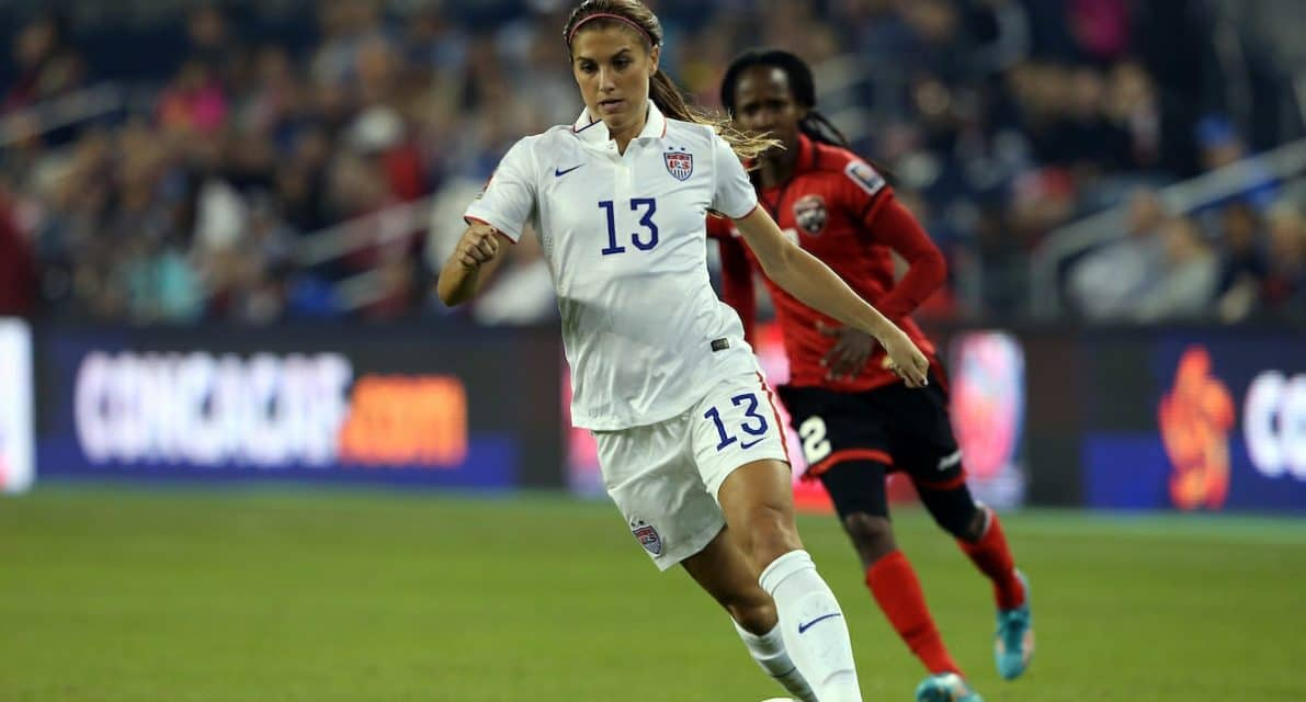 NO CONTEST AGAIN: U.S. women roll over Mexico, 6-2, as Morgan, Rapinoe star
