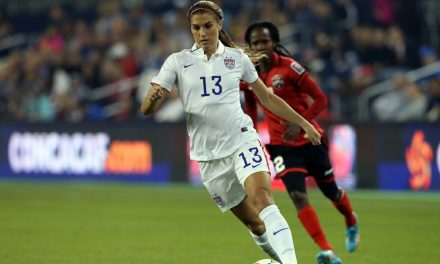 CONCACAF'S FINEST: Morgan named female player of the year for 3rd time