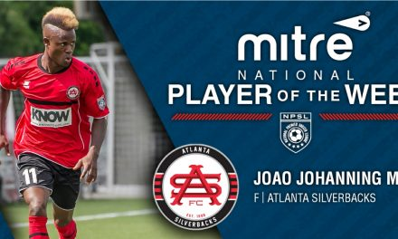 IN THE SPOTLIGHT: NPSL names Atlanta's Johanning Mora player of the week