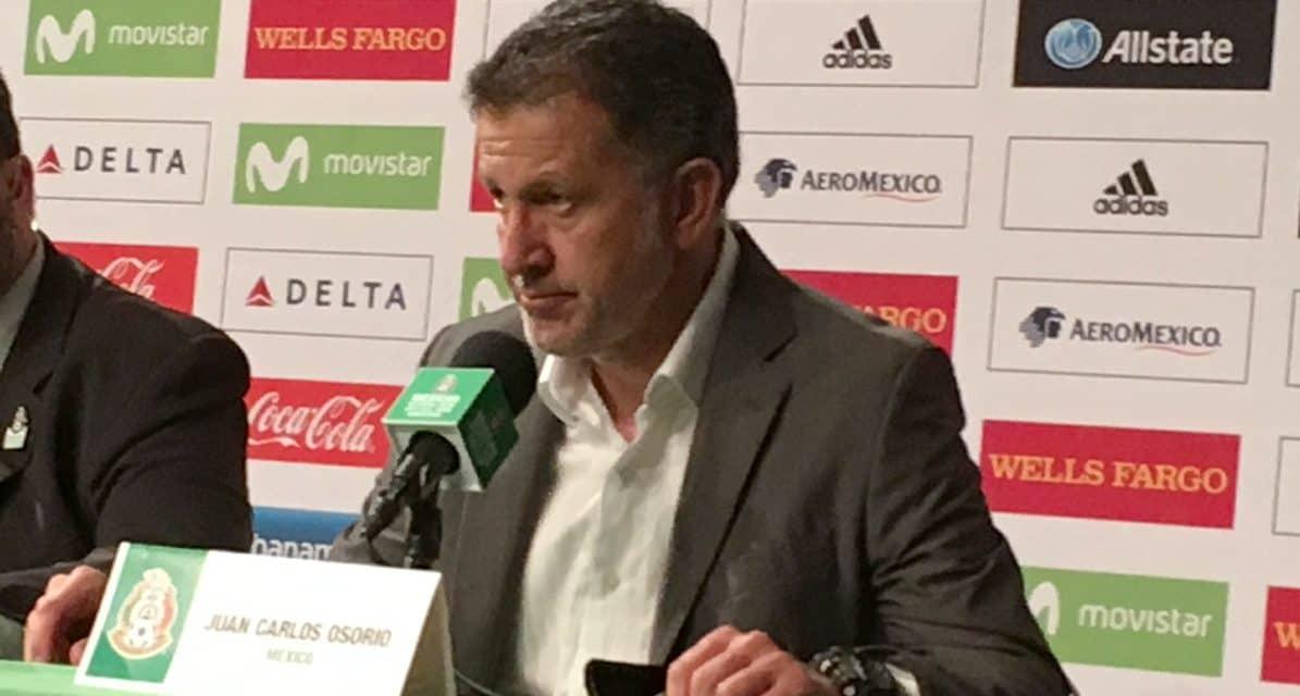 SOME PRAISE FOR RAFA: Osorio on Mexico's veteran defender-midfielder