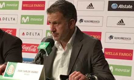 SOME PRAISE FOR RAFA: Osorio on Mexico's veteran defender-midfielder