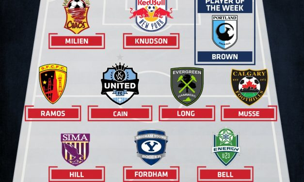COOL HAND LUKE: GPS Portland Phoenix's Brown (Hofstra) named PDL player of the week