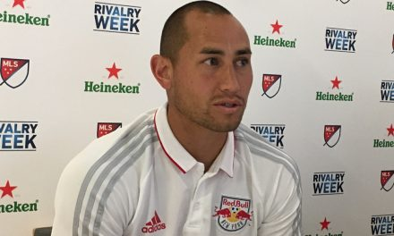HE'S CERTAINLY A KEEPER: Red Bulls sign Robles to a new contract