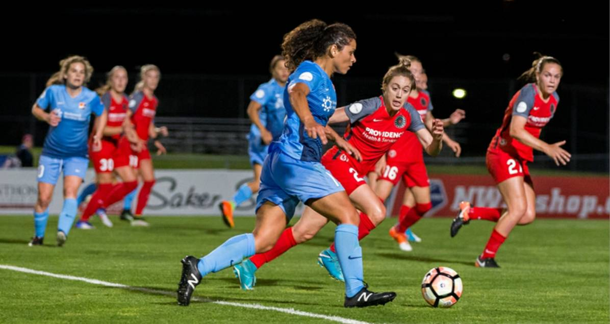 CAN'T CATCH THE SPIRIT: Winless Sky Blue FC falls at home, 3-2