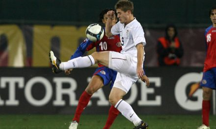 COUNTDOWN TO MEXICO (7): 2011: Robbie Rogers scores equalizer, gives U.S. a 1-1 tie with Mexico in Klinsmann's debut