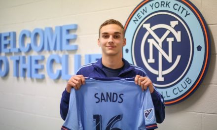 LISTEN TO THE NEW PRO: James Sands talks about joining NYCFC