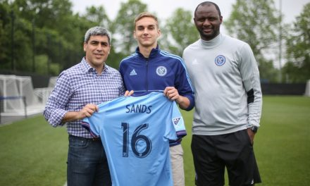 FIRST HOMEGROWN PLAYER: James Sands signs with NYCFC