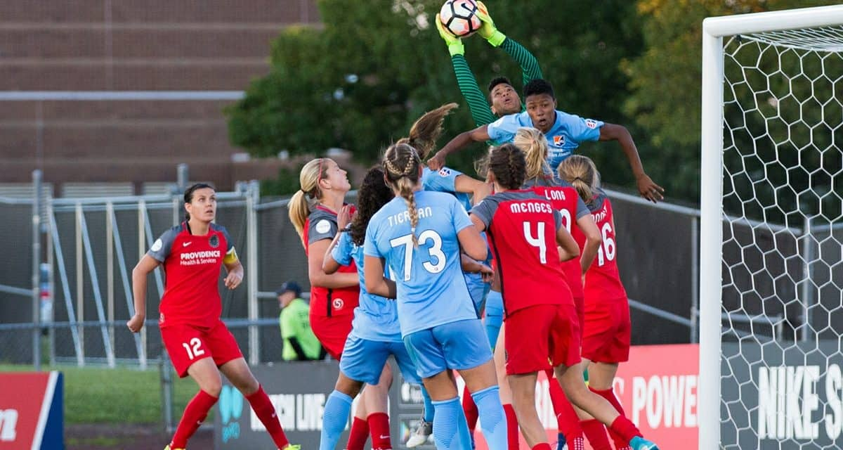 A THORN IN THEIR SIDES: Portland snaps Sky Blue FC's 3-game home winning streak