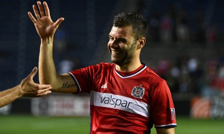 CALL HIM MR. MAY: Chicago's Nikolic selected MLS player of the month
