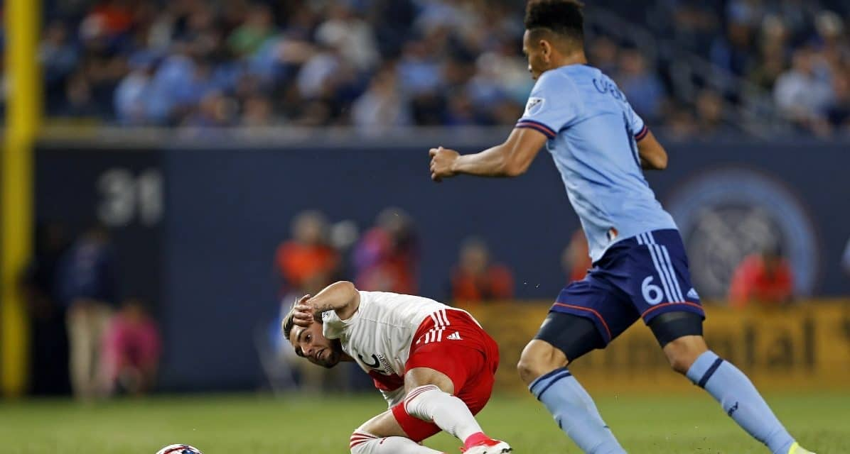 FRONT AND CENTER: Center backs Chanot, Callens rally NYCFC to 2-1 win over Philly