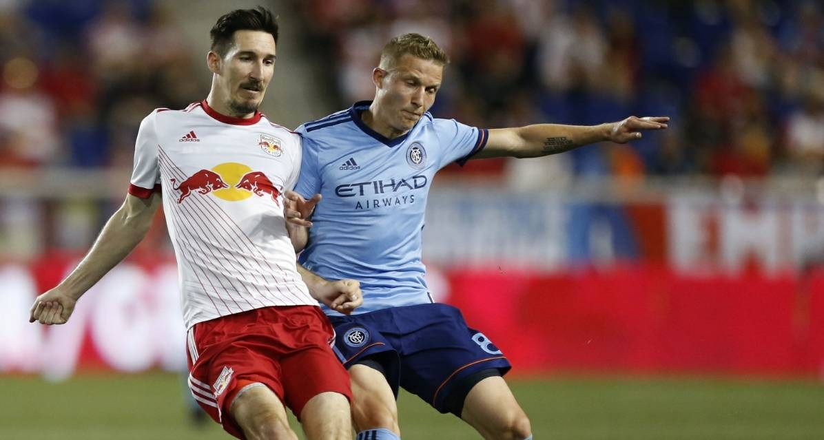 HUDSON RIVER DERBY, ROUND 8: Will NYCFC be seeing red or will the Red Bulls be feeling blue?