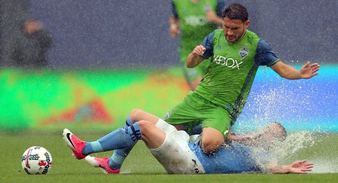 SLINGING IN THE RAIN: Villa's 2 goals spark comeback in NYCFC win