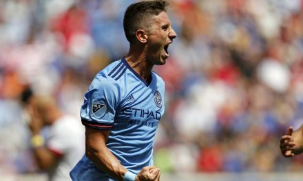 NO SWEAT? YES, SWEAT!: NYCFC defender named winner of our goal, player of the week