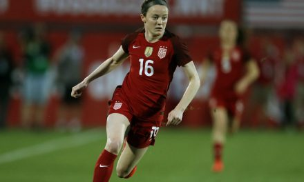 SMELLING LIKE A ROSE: Lavelle lifts U.S. women over Sweden