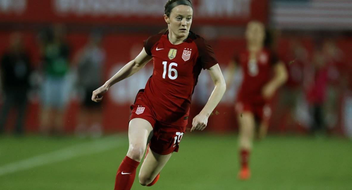 SMELLING LIKE A ROSE: Lavelle lifts U.S. women over Sweden