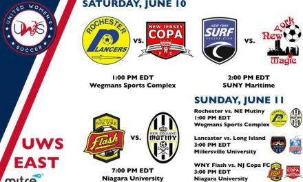 UWS THIS WEEKEND: N.Y. Magic, NY Surf, New Jersey Copa, Lady Lancers, Inferno in action