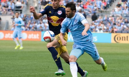 DOUBLING HIS PLEASURE: Villa wins goal, player of the week honors
