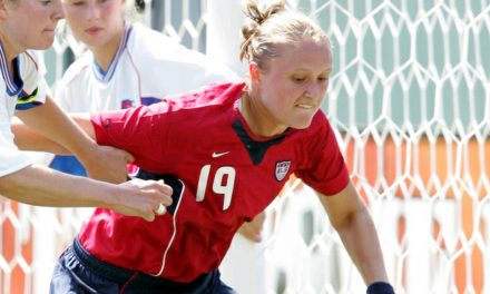 WOMEN'S SOCCER HISTORY MONTH (Day 12): Quite an international comeback For Algarve Cup hero Welsh (2005)