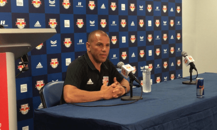 THE COACH SPEAKS: Armas talks about Red Bulls' win