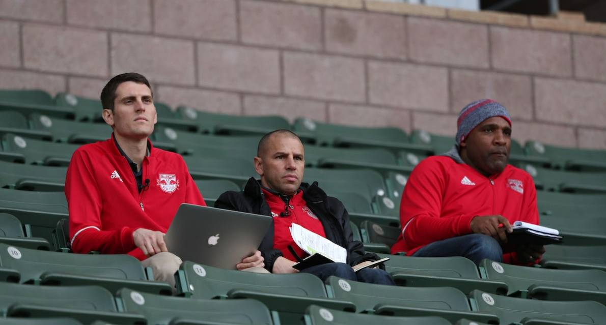 CHRIS IN CHARGE: Armas will run Red Bulls show while Marsch is in Europe