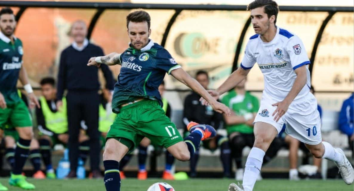 SOME RARE HOMECOOKING: Cosmos rally in 2nd half to win 2nd home game of season
