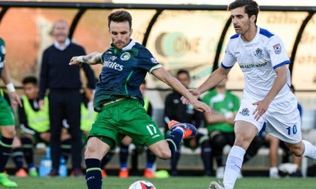 GOING FOURTH: Cosmos roll over Puerto Rico FC, helping their playoff chances