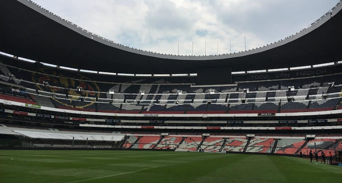 OFFSIDE REMARKS: Ready for my 7th trip to Azteca