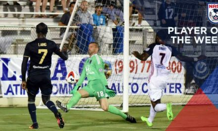 NOT BUSCH LEAGUE AT ALL: NASL names Indy goalkeeper player of the week